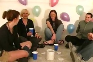 sexy gals play truth or dare
