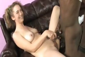young daughter with good gazoo drilled by a black