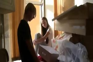 boy sells his sweet-looking legal age teenager