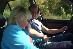 he picks up and nails a dirty old wench outdoors