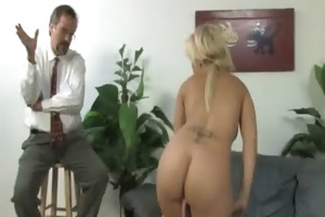 juvenile daughter with nice booty fucked by a