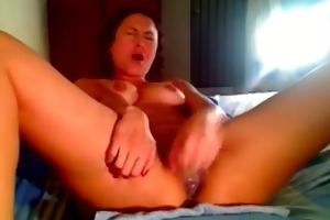 dilettante girl at home fucks every gap