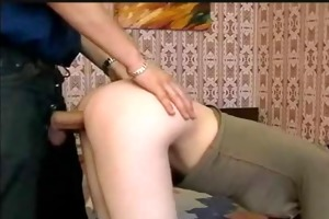 young russian teen screwed and facial