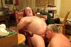 obese dad engulfing