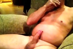 grandpapa jerking off until it cums