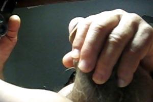 68 yrold grandpa #19 older penis close closeup