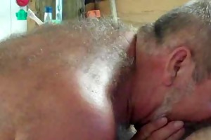 dad loves engulf and eat cum