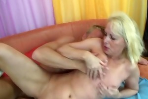 sexy mama vs young cock