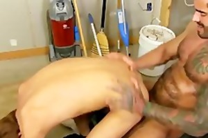 homo twink gets anal from his lustful homosexual