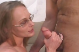 hubby watches wife drilled by new man