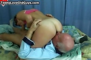 lascivious granddad receives to fuck a cute part4