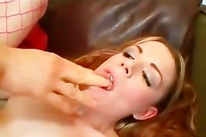 daughter throat and arse destruction