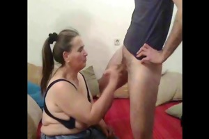 old slut from down city ...