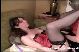 mrs loving love anal time with her sissy