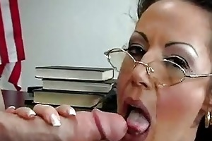 hawt milf anjelica lauren takes in a large