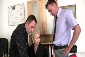 she pleases jocks at job interview