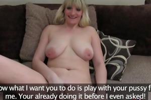 fakeagentuk tall blonde milf craves hard cock in