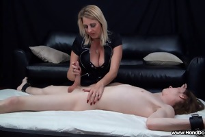 mother i handjob proves sons knob is larger than