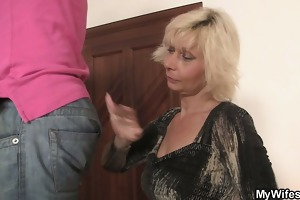 he is is enticed by lewd mother-in-law