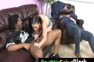 my daughter is fucked hard by my black friend 5