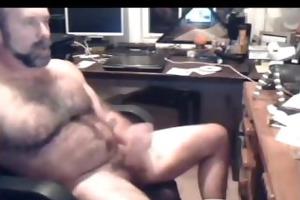 hairy verbal hot dad moanin strokin cummin
