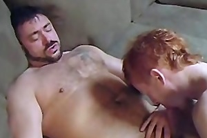 muscle dad bonks ginger boy