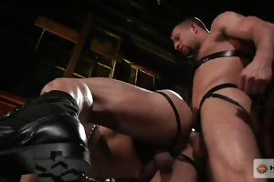 ferelli dominates the younger stud and bonks him