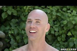 two bikini-clad brunettes share big-cock in hot
