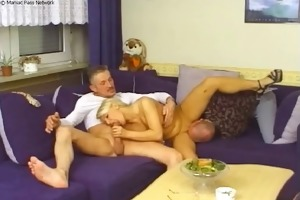 sandwiched between hard cocks