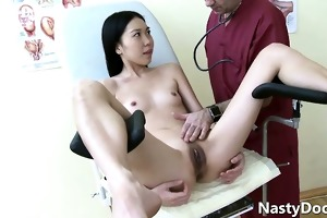 old horny doc eating fresh cunt