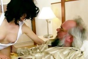 grandpa has a recent girl
