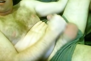 curly excited married daddy wanks
