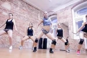 sexy russian twerking dance team forma - monster