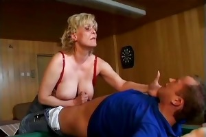 wicked concupiscent old mama with large part5