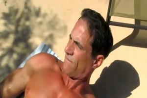 daddy poolside prick loving