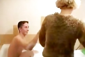 russian mother and young guy! russian cumshots