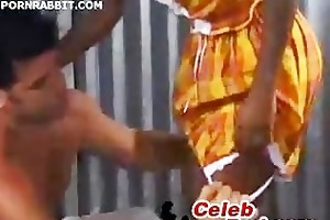 african teen pleasuring her boss