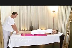 danejones erotic massage drives young cutie wild