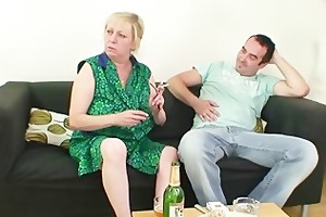 i just drilled my mom in law but wife finds us