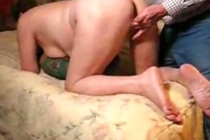 old mother hubbard getting drilled by her hubby