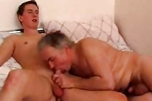 gracious youthful twink gets his cock sucked by