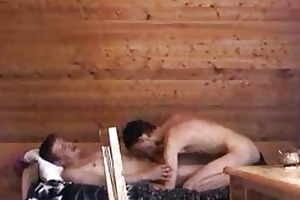 older homosexual stud and young boi fucking on
