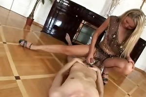 hot youthful chic hj to youthful dudes large cock