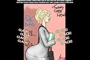 large ass lebanese teacher