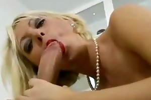 blonde slut copulates old fellow hard and