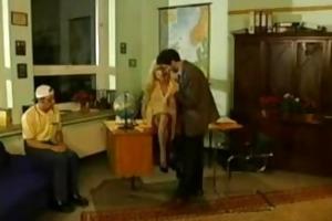 sibylle rauch- german teacher drilled by student