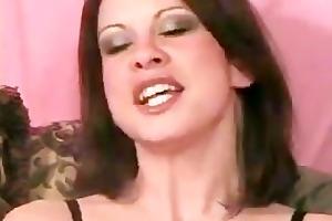 miniature boob milf on web camera rubs clit