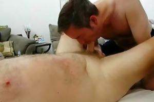 big bear shlong gets sucked with joy